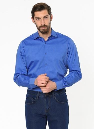 Daffari Uzun Kollu Klasik Gömlek Saks
